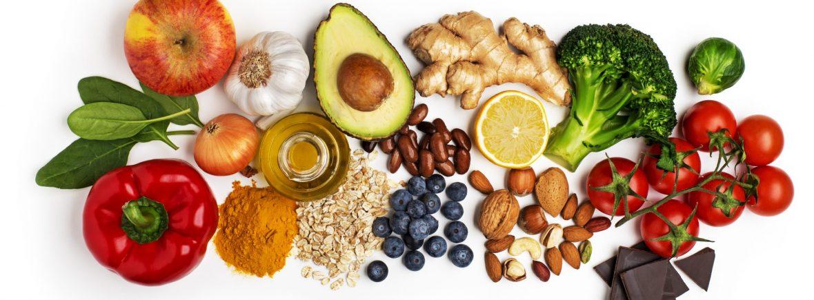 fruits légumes graines mager sain