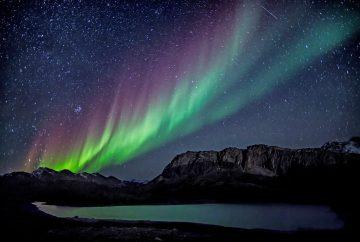 aurore boreal ciel nuit energie