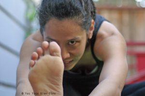 Janu Sirsasana Posture Tete Genou Yes yoga Bien Etre Drishti