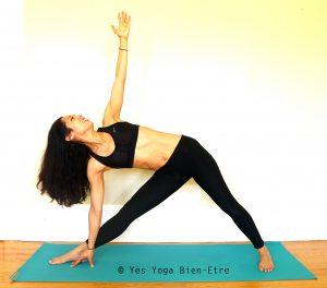 Utthita Trikonasana La Posture du Triangle Yoga