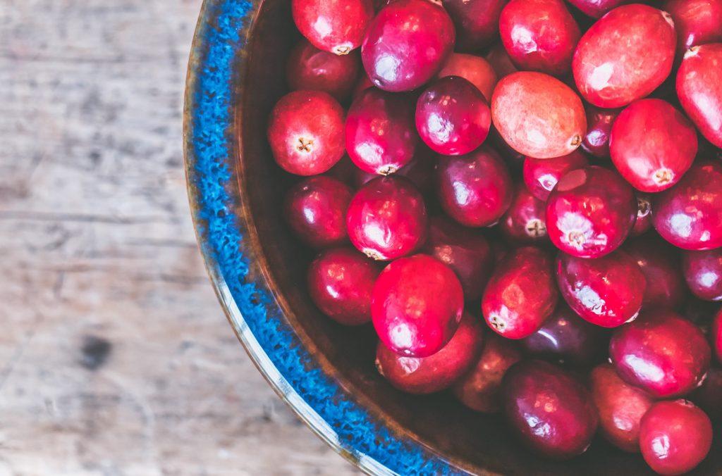 canneberges cranberry crues