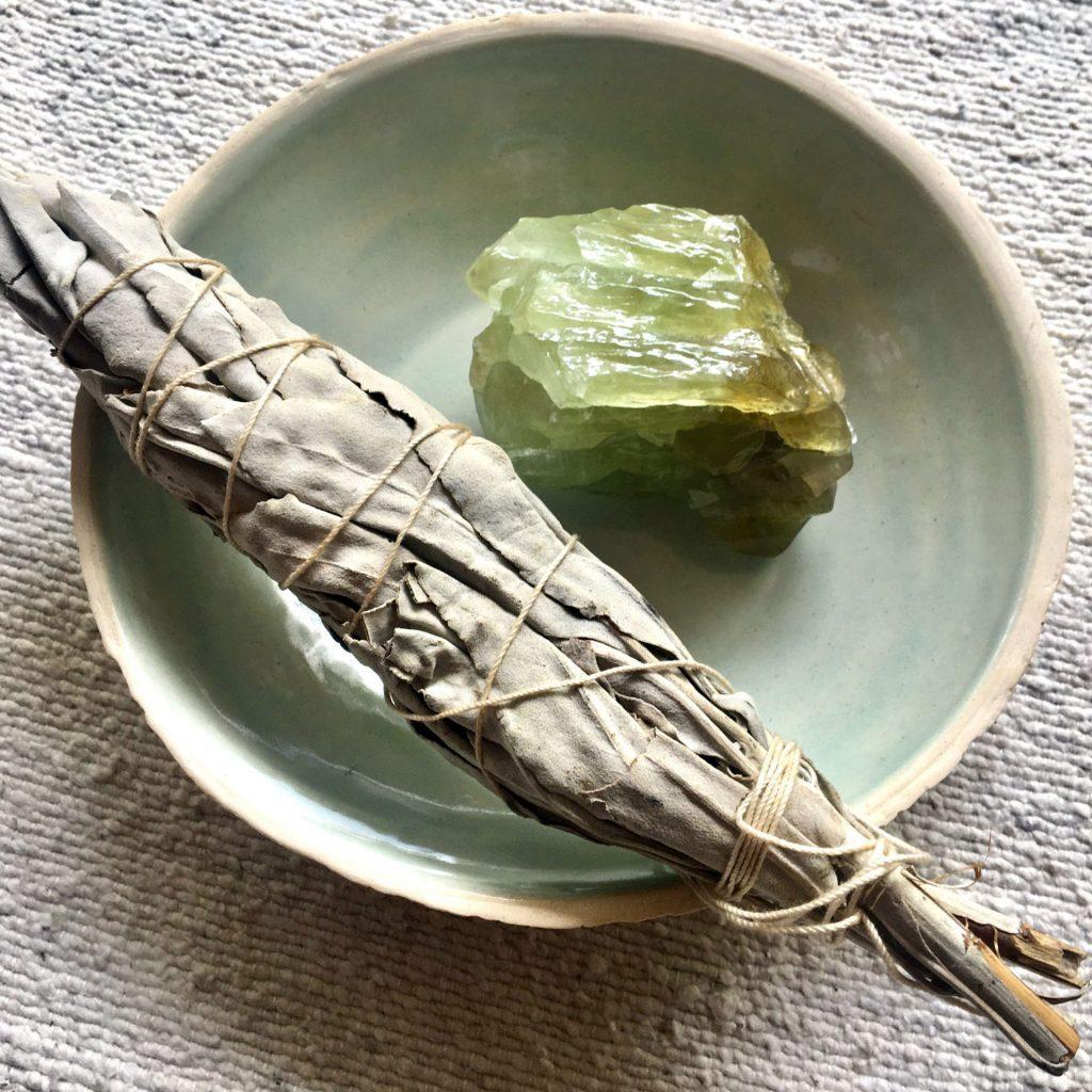 Salvia apiana, la Sauge blanche séchée / céramique par Oh Lalala Studio
