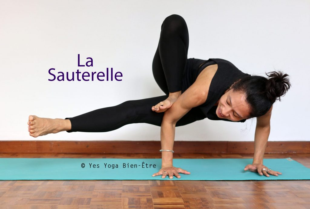 La Posture de la Sauterelle - Yes Yoga Bien-Être