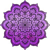 Mandala Violet - Soins Reiki et Chamaniques