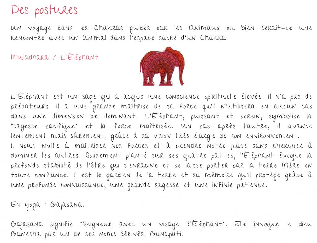 Exercice pour le Chakra de la Racine et l'éléphant