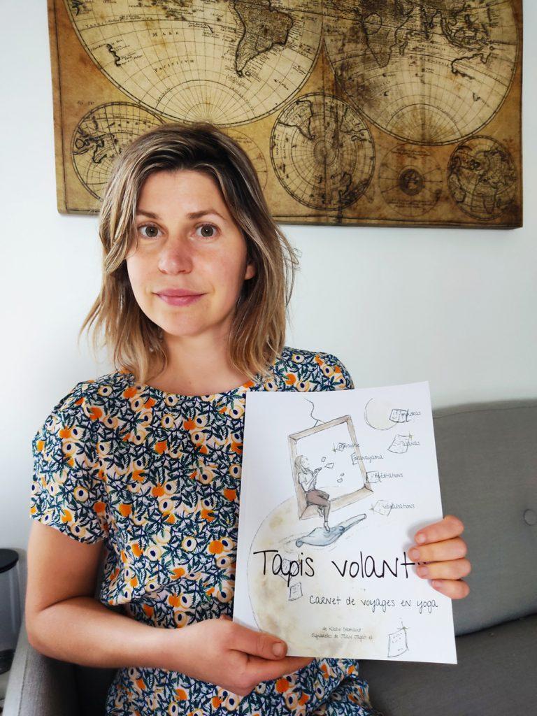 Klervi Grimaud auteure de Tapis Volants