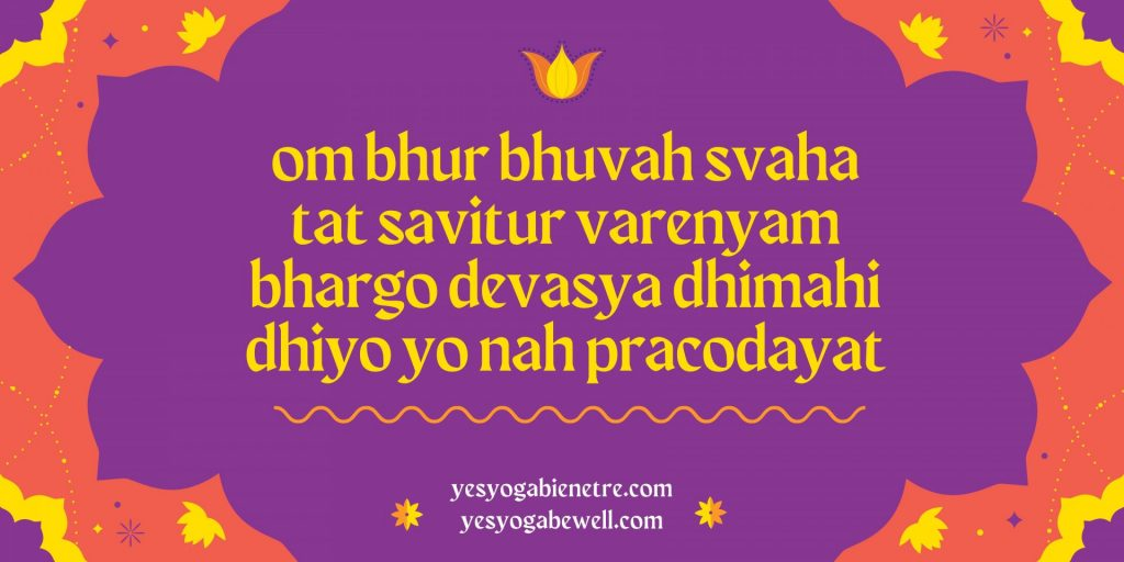 Gayatri Mantra om bhur bhuvah svaha tat savitur varenyam bhargo devasya dhimahi dhiyo yo nah pracodayat